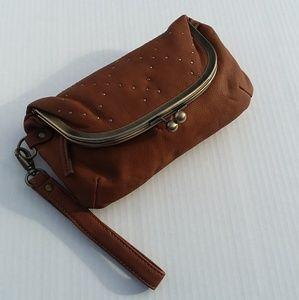 Rampage Wristlet Clutch Bag